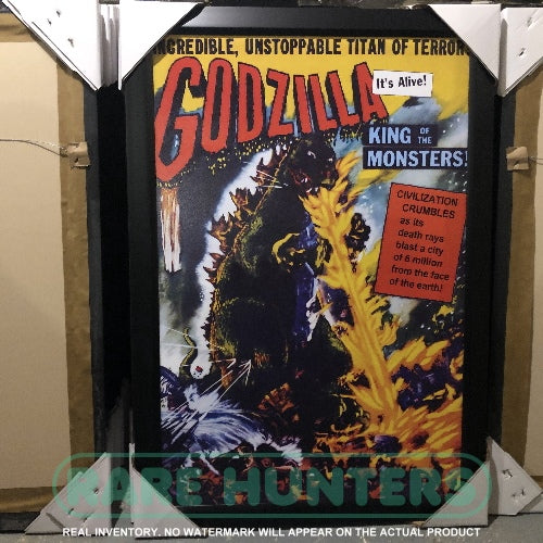 Actual Inventory - Godzilla King of the Monsters Framed Movie Poster