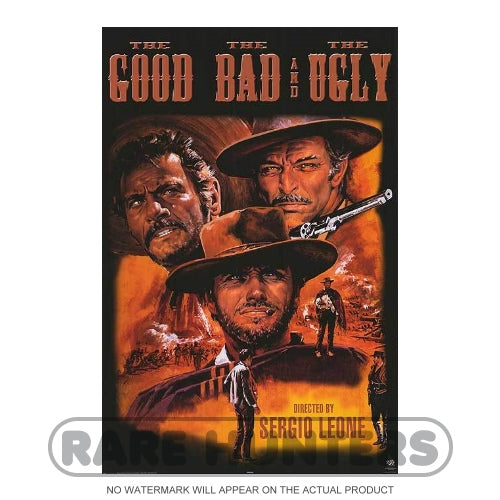 The Good, Bad, and The Ugly Framed Movie Poster