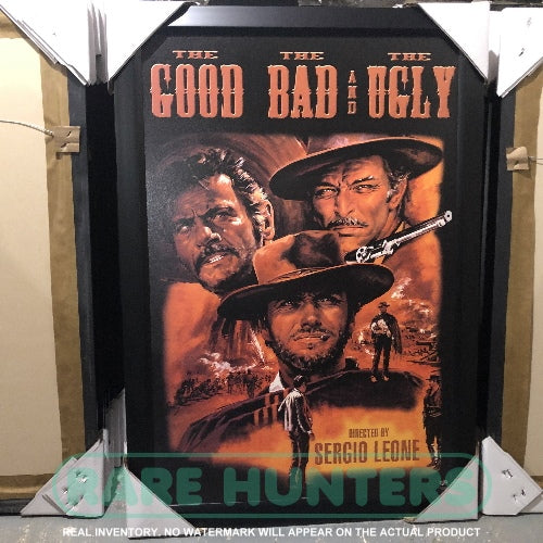 Actual Inventory - The Good, Bad, and The Ugly Framed Movie Poster
