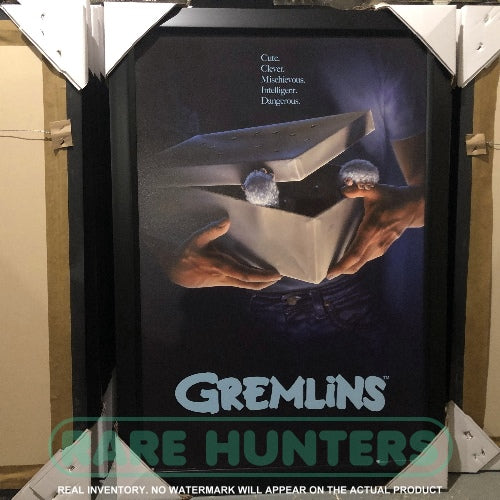 Actual Inventory - Gremlins Framed Movie Poster
