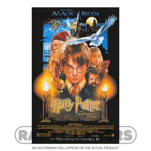 Harry Potter and the Sorcerer's Stone Framed Movie Poster