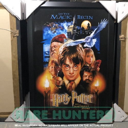 Actual Inventory - Harry Potter and the Sorcerer's Stone Framed Movie Poster