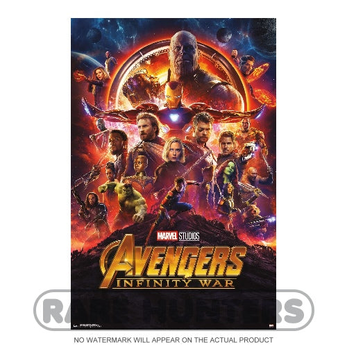 Avengers Infinity War Framed Movie Poster
