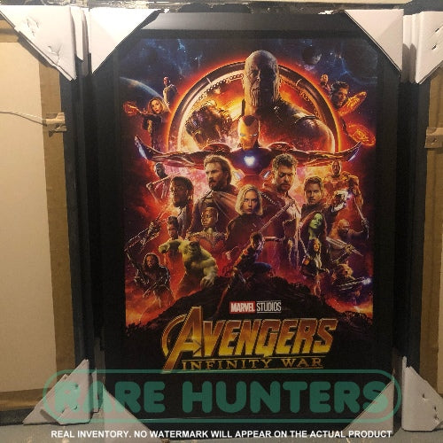 Actual Inventory - Avengers Infinity War Framed Movie Poster
