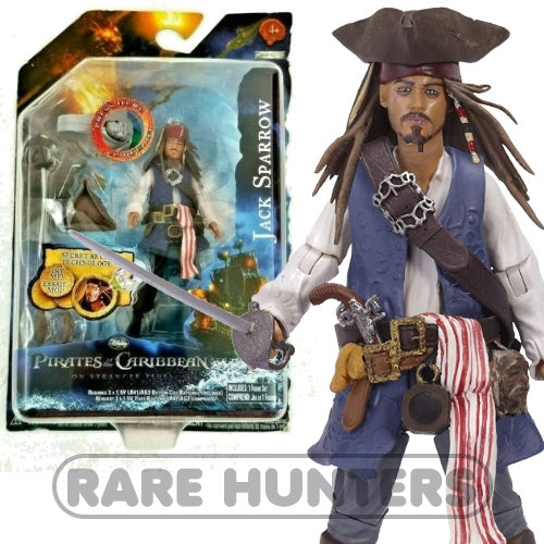 Pirates of the Caribbean On Stranger Tides Jack Sparrow 3 3/4-Inch Figure