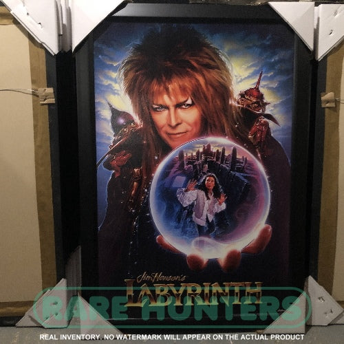 Actual Inventory - Labyrinth Framed Movie Poster
