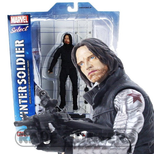 Marvel Select Civil War Winter Soldier Bucky 7-inch Action Figure