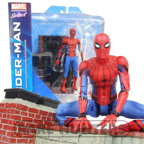 Marvel Select Home Coming Spider-man 7-inch Action Figure