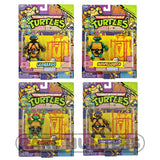 Teenage Mutant Ninja Turtles TMNT Classic 1988 Repro Collection - Retro Figure Set