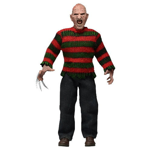 Nightmare on Elm Street 8-Inch Clothed Figure  Freddy Krueger Part 2