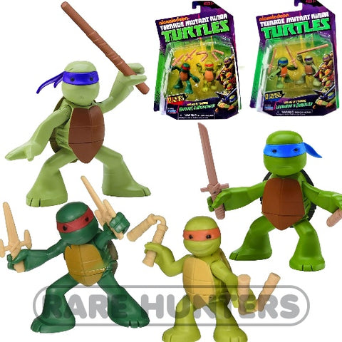 Nickelodeon Teenage Mutant Ninja Baby Turtles In Training Action Figure Set