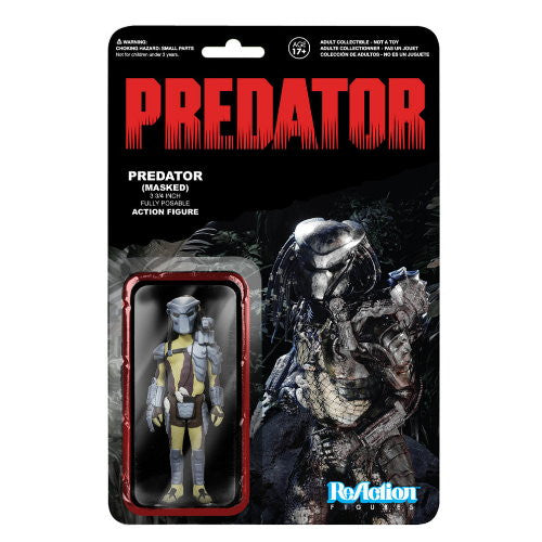 Funko ReAction Predator Retro 3 3/4-Inch Masked Predator