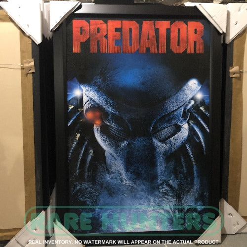 Actual Inventory - Predator Framed Movie Poster
