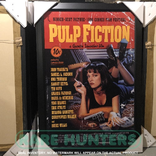Actual Inventory - Pulp Fiction Framed Movie Poster