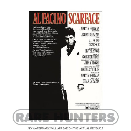 Scarface Framed Movie Poster