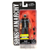 Sons of Anarchy 6-Inch Exclusive Clay Morrow Figure from Rare Hunters - Packaging