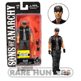 Sons of Anarchy 6-Inch Exclusive Clay Morrow Figure from Rare Hunters