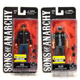 Sons of Anarchy 6-Inch Exclusive Jax and Clay Figure Set from Rare Hunters - Packaging