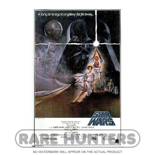 Star Wars Episode IV A New Hope Classic Framed Movie Poster