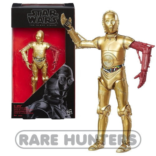 Star Wars Black C-3PO 6-Inch Figure from Rare Hunters