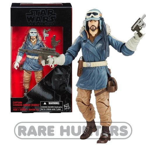 Star Wars Black Captain Cassian Andor 6-Inch Figure from Rare Hunters