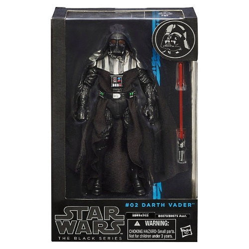 Star Wars Black Darth Vader Figure from Rare Hunters - packaging