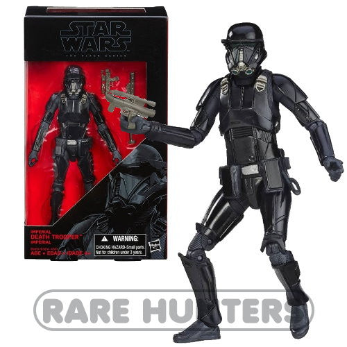 Star Wars Black Deathtrooper 6-Inch Figure from Rare Hunters