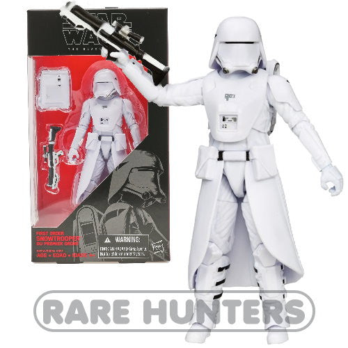 Star Wars Black First Order Snowtrooper 6-Inch Figure from Rare Hunters