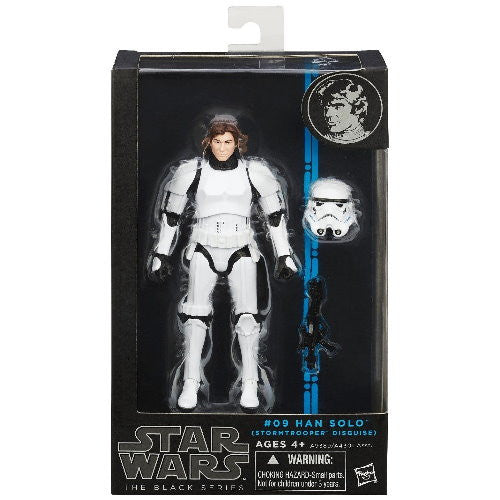 Star Wars Black Han Solo Stormtrooper from Rare Hunters - packaging