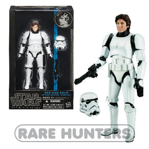 Star Wars Black Han Solo Stormtrooper from Rare Hunters
