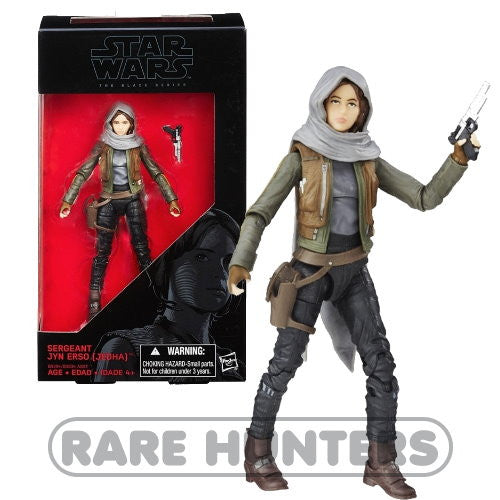 Star Wars Black Jyn Erso 6-Inch Figure from Rare Hunters
