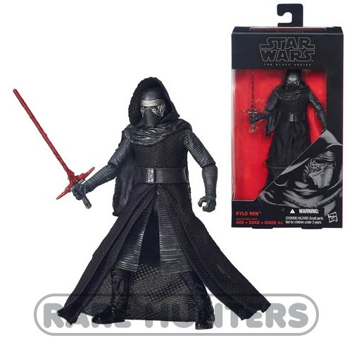 Star Wars Black Kylo Ren from Rare Hunters