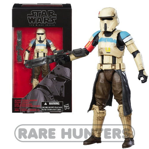 Star Wars Black Scarif Stormtrooper Squad Leader 6-Inch Figure from Rare Hunters