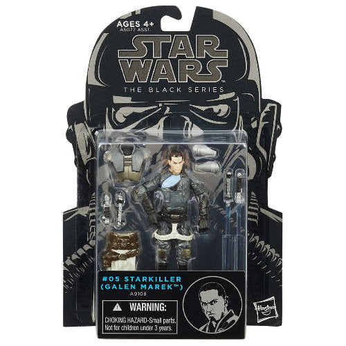 Star Wars Black Starkiller from Rare Hunters - packaging