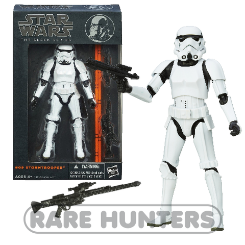Star Wars Black Stormtrooper from Rare Hunters