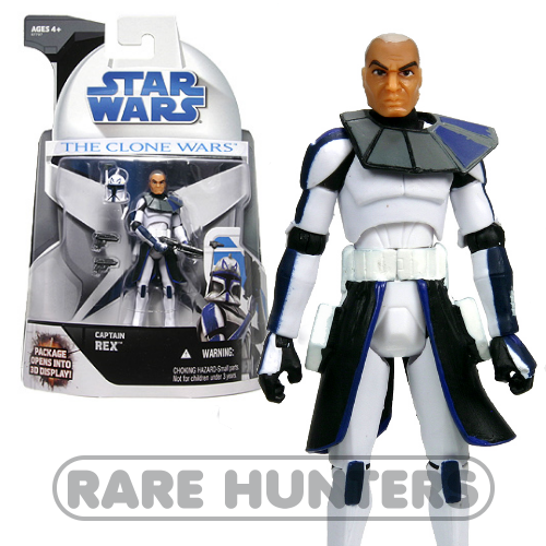 Star Wars Clone Wars Captain Rex mail-away from Rare Hunters
