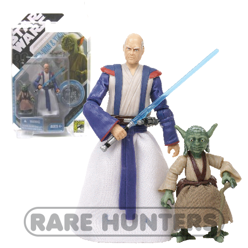 Star Wars SDCC Yoda and Obi-Wan from Rare Hunters