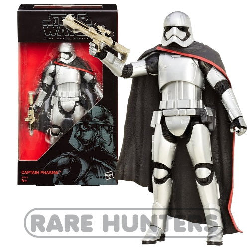 Star Wars The Black Series The Force Awakens Captain Phasma 6-Inch Action Figure from Rare Hunters