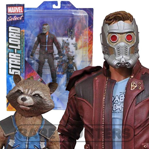 Marvel Select Movie Star-Lord and Rocket