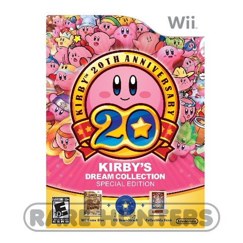 Nintendo Wii 2012 - Kirby's Dream Collection Special Edition