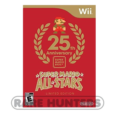 Nintendo Wii 2010 - Super Mario All-Stars 25th Anniversary Limited Edition