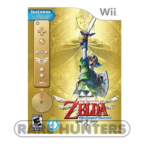 Nintendo Wii 2011 - The Legend of Zelda: Skyward Sword Limited 25th Anniversary Collector's Edition Bundle