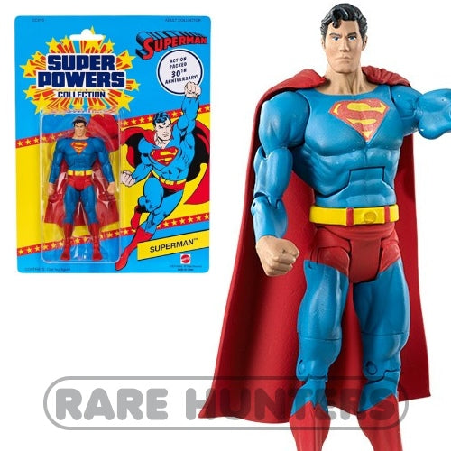 Mattel Matty Super Powers Kenner 30th Superman 6-Inch Figure