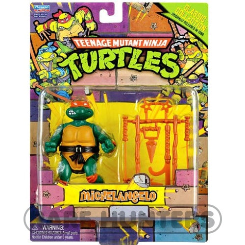 Teenage Mutant Ninja Turtles TMNT Classic 1988 Repro Collection - Retro Figure Mike