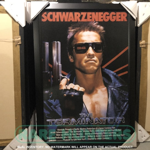 Actual Inventory - Terminator Framed Movie Poster