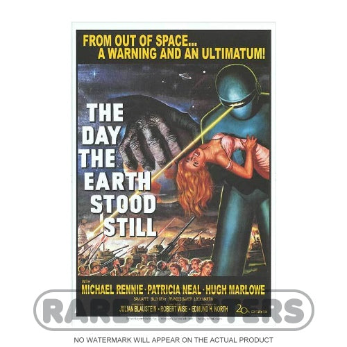 The Day the Earth Stood Still Framed Movie Poster