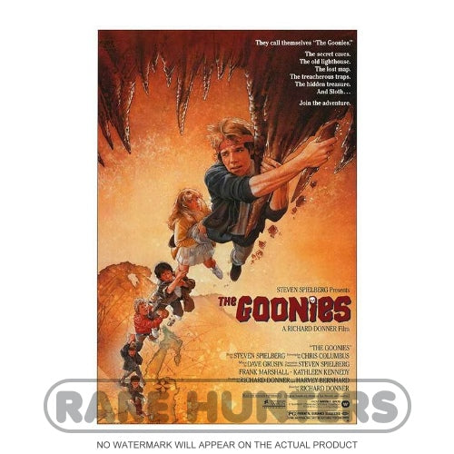 The Goonies Framed Movie Poster