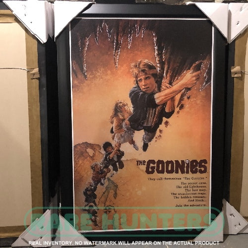 Actual Inventory - The Goonies Framed Movie Poster