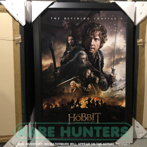Actual Inventory - The Hobbit Framed Movie Poster