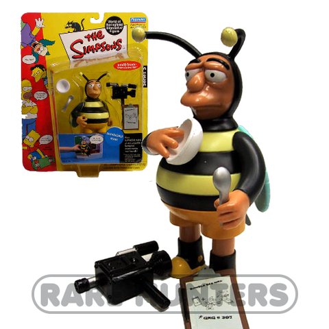 The Simpsons Bumblebee Man Figure from Rare Hunters